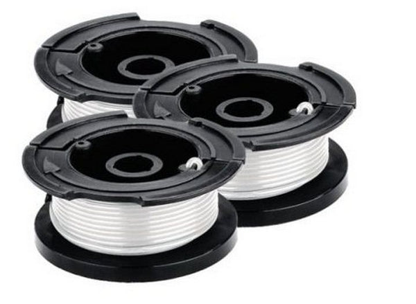 Black & Decker AF-100-3ZP Line String Trimmer Replacement Spool, Pack of 3