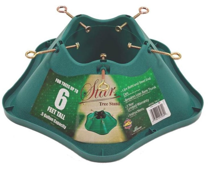 Holiday Basix 506-ST Christmas Tree Stand, Green