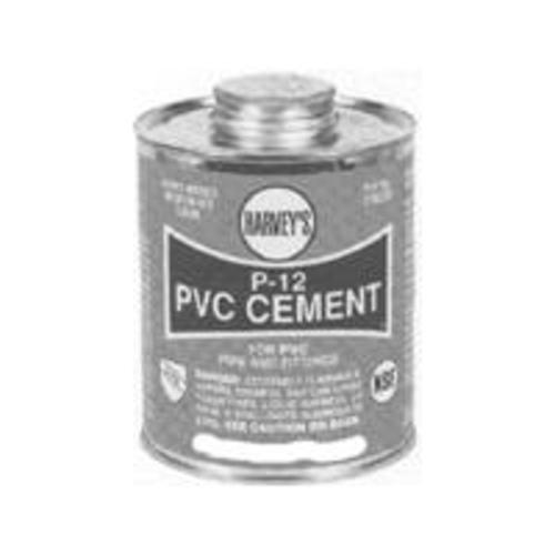 "Harvey 018230-12 ""P-12"" Pvc Heavy Body Cement 32 Oz"
