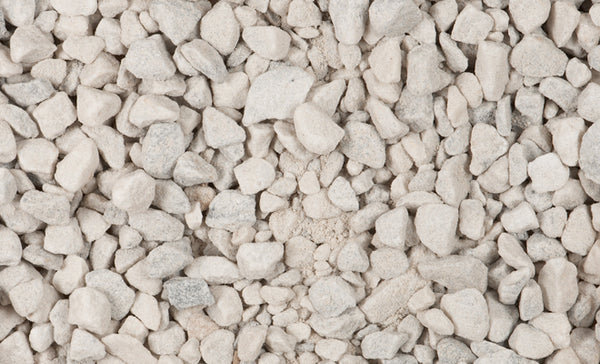 Pavestone 54141 Decorative Marble Chips Landscape Stone, White, 0.5 cu.Ft