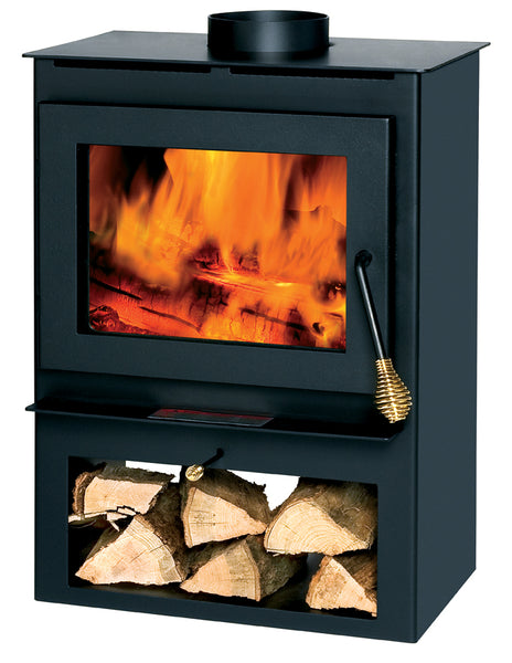Summers Heat 50-SVL17 Non-Catalytic Wood Burning Stove, 800-1,200 sq. ft.