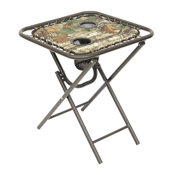 Seasonal Trends T5S18FR1G31ORT Folding Bungee Table, 18""