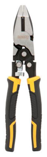 DeWalt DWHT70276 Compound Action Linesman Pliers, 8""