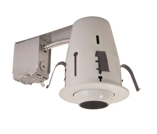 "Power Zone RS2000RG+ TRIM405 Recessed Light Fixture Kit 4"", White"