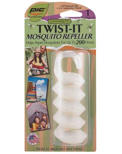 PIC TWIST-IT Citronella Plus Mosquito Repellent
