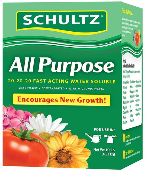 Schultz SPF70680 All Purpose Water Soluble Plant Food, 20-20-20, 1.5 lbs