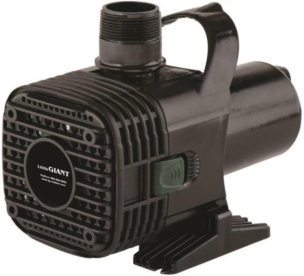 Little Giant 566725 (F20-2700) Wet Rotor Pond Pump, 2700GPH, 20'