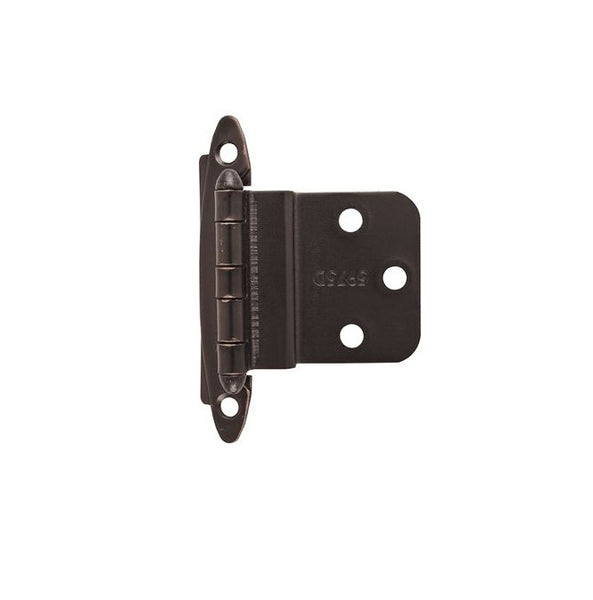 Amerock BPR3417ORB Non-Self-Closing Inset Hinge, Oil-Rubbed Bronze