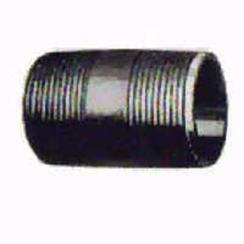 "Worldwide Sourcing 1/2X11/2B Black Pipe Nipple 1/2""X1-1/2"""