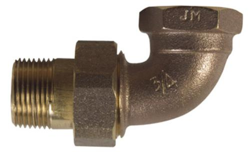 B & K 109-384 Heavy-Duty Elbow Nut & Tail Piece Radiator Valve, 15 psi