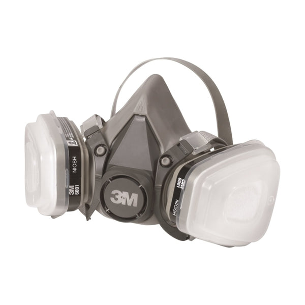3M 6023P1-DC P95 Paint Project Respirator Supply Kit, Gray