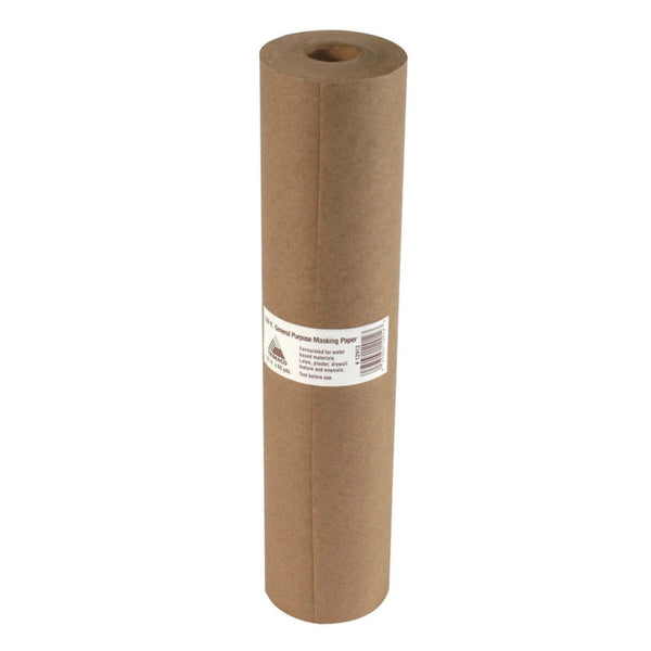 Trimaco 12906 General Purpose Masking Paper, Brown, 180 ft