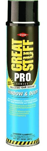 Great Stuff 197711 Pro Window and Door Straw Foam, 20 Oz