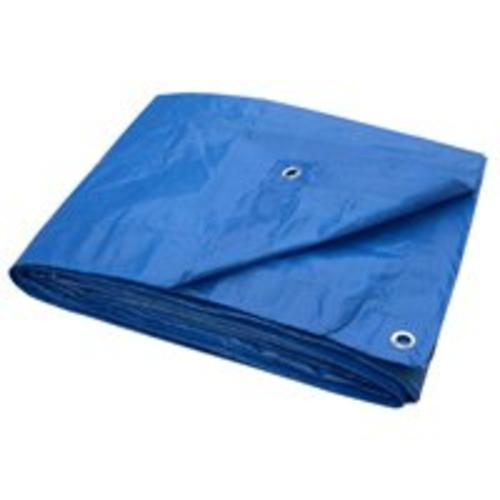 Toolbasix T0608BB70 Plastic Light Duty Tarp 6'x8', Blue