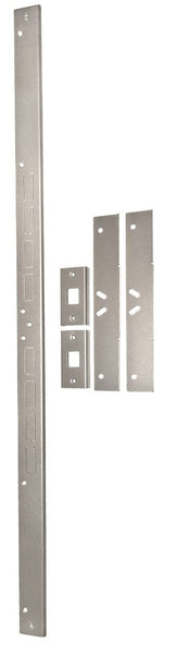 Armor Concepts SET-EZA-23000 Door Security Combo Set, satin nickel