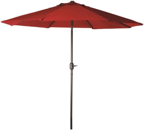 Seasonal Trends 60034 Market Crank Umbrella, Red