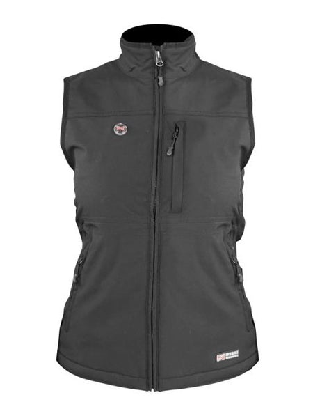 Mobile Warming MWJ13W02-SM-BLK Whitney Heated Vest, Small