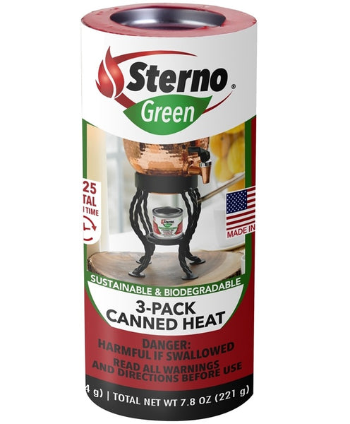 Sterno 20230 Canned Heat Cooking Fuel, 2.6 Oz