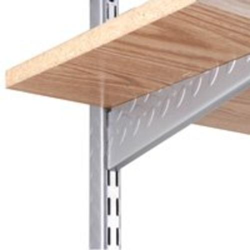"Knape & Vogt 0202-14PM Heavy Duty Shelf Standard, 14"" Dual Slot"