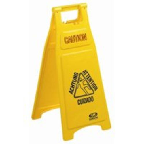 Continental Commercial 119 Caution Wet Floor Sign, 26""