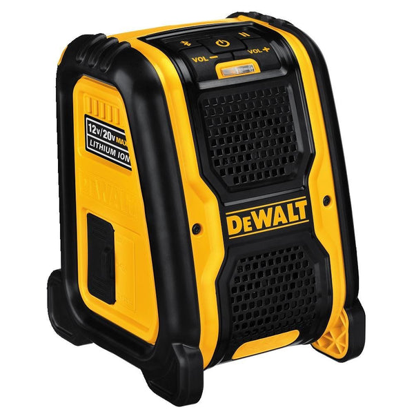 Dewalt DCR006 Wireless Jobsite Bluetooth Speaker, Yellow