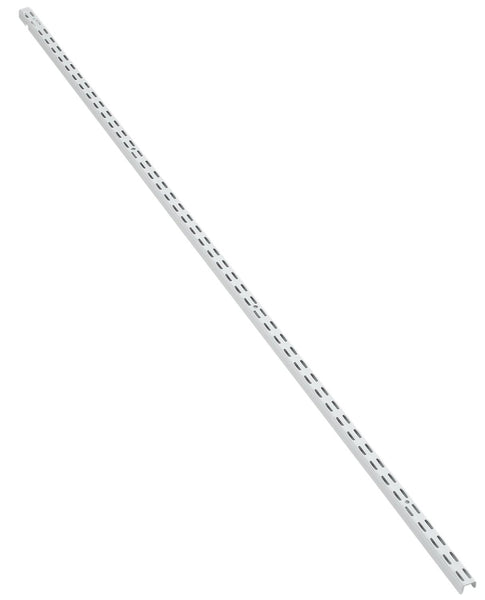 "Closetmaid 2800 Shelf Track Standard, 12"", White"