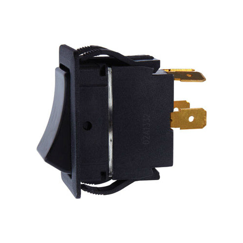 Jandorf 61124 DPST Rocker Switch, 15 Amp, 125 Volt