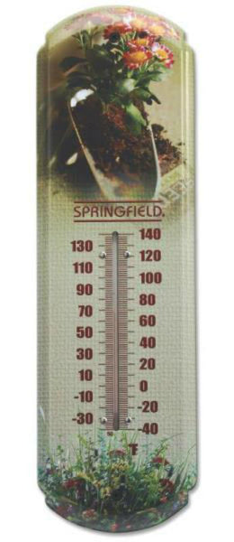 Taylor 98219 Analog Thermometer, -40 TO 140 deg F, 17""