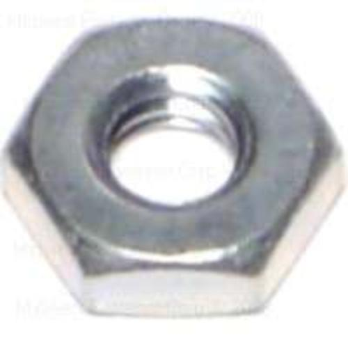 Midwest Products 03750 Zinc Hex Machine Screw Nuts 10-24