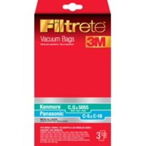 Filtrete 68700A-6 Kenmore & Panasonic Micro Allergen Vacuum Bags, 3-Count