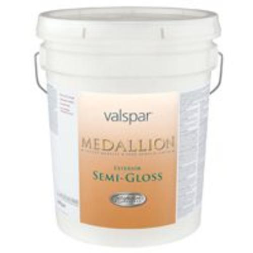 Valspar 27-4308 Medallion Pastel Base Exterior S-Gloss Latex, 5 Gallon