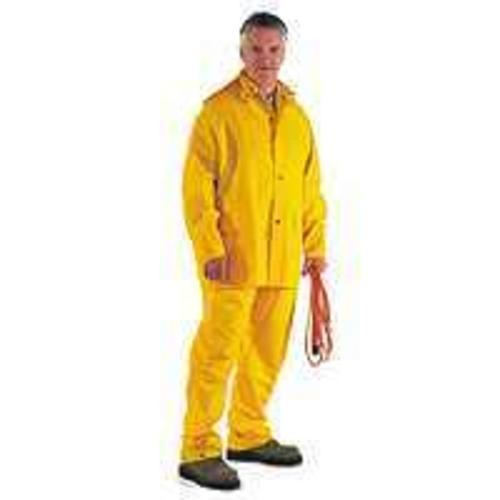 Diamondback SRS3/111-XL Heavy Duty Rainsuits, X-Large, Yellow, 3Piece