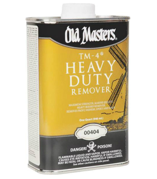 Old Masters 00404 TM-4 Paint Remover, 1 Quart