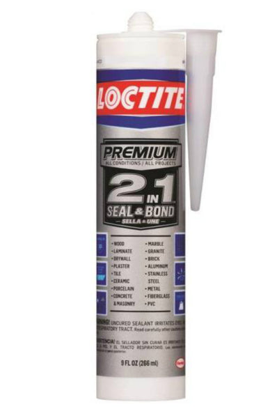 Loctite 2126025 Premium 2-In-1 Seal & Bond, 9 Oz