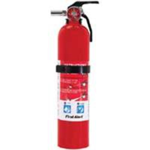 First Alert GARAGE10 Fire Extinguisher, Red