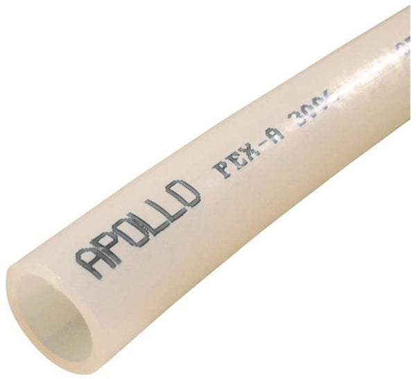 "Apollo EPPW512 White PEX-A Pipe, 1/2"" x 5' L"