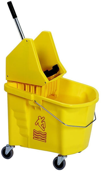 Continental Commercial  335-37YW Combo Mop Bucket, 35 Quart