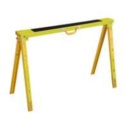 "Vulcan YH-SH017 Steel Folding Sawhorse 40"", Yellow"