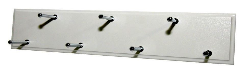 Easy Track RA1202 Sliding Belt Rack, White
