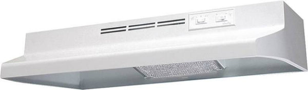 "Air King AD1243 Range Hood, 24"", White, 180 CFM"