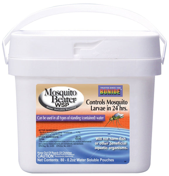 Bonide 550 Mosquito Beater WSP Bucket, 80 Pouches