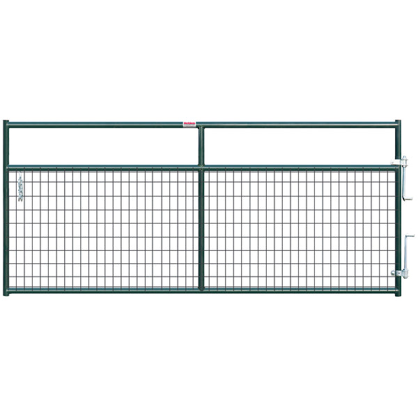 Behlen 40132102 Wire-Filled Gate, Green, 10'