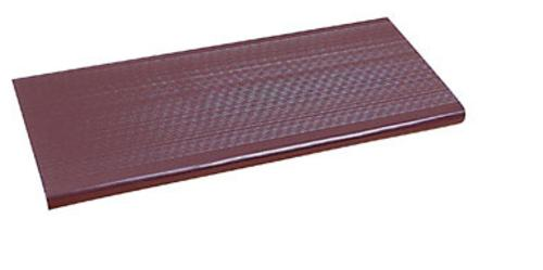 "WJ Dennis VST2406 Brown Vinyl Stair Tread, 10-1/2"" x 24"""
