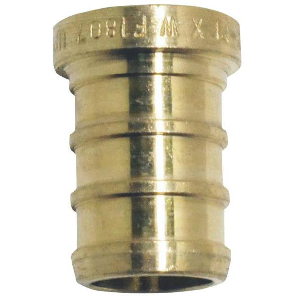 "Apollo Valves APXP12 PEX Fitting Test Plug, 1/2"", Brass"
