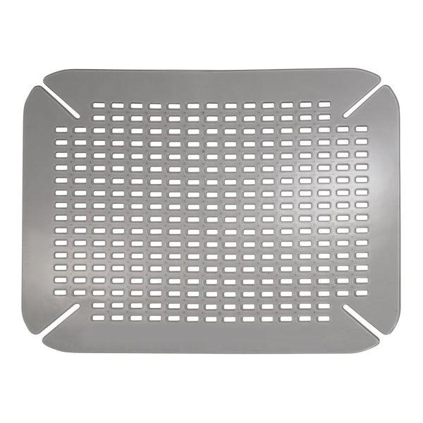 "InterDesign 59063 Graphite Contour Sink Saver, 14"" x 16"""