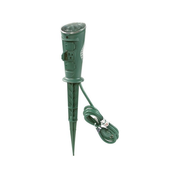 AmerTac TM17DOLB Outdoor Daily Mechanical Photocell Stake Timer