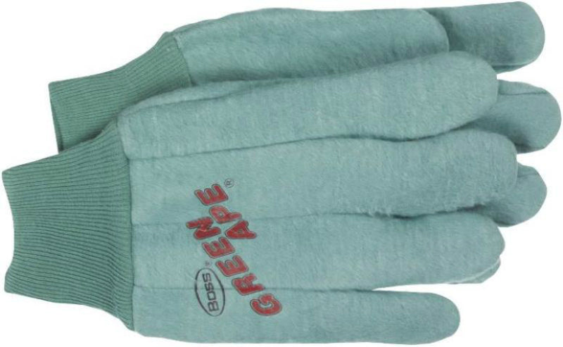 Boss 313 Green Ape Chore Glove, 18 Oz, Large
