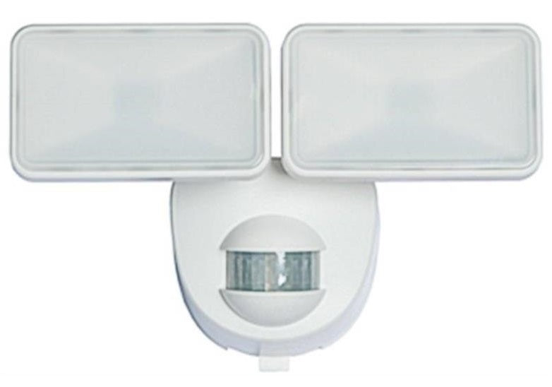 Heathco HZ-7161-WH Battery Powered Security Light, 180 deg Sensing, White