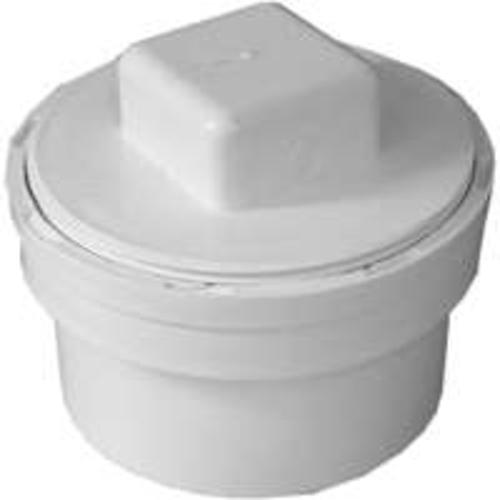 Genova 41640 Pvc Sewer & Drain Fitting Cleanout, 4""