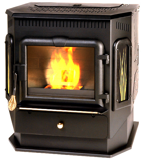 Summers Heat 49-SHCPM Multi Fuel Stove, 2200 Sq. Ft.